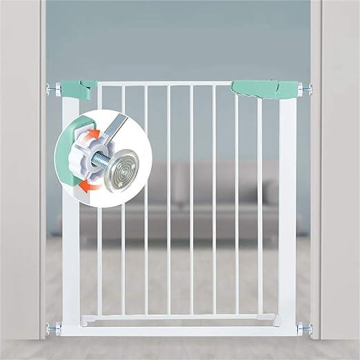 YIKEY- Barandillas de la cama Barandilla de Escalera Valla de Seguridad para niños Cerca de Valla Cerca de riel de Escalera para bebés Aislamiento de Mascotas Perforación Libre, Longitud: 60 cm (23.: