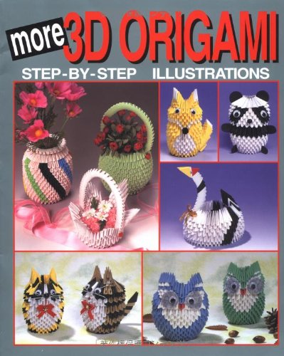 (More 3D Origami: Step-By-Step Illustrations (3D Origami)