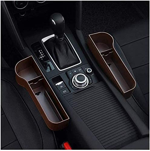 Black with Red, 1PCS WYYINLI Universal Car Elbow Support Pads Car Wireless Charging Multi-Function Armrest Box Storage Box/Car Armrest Rest Pads and Seat Pockets Storage Box Car Seat Gap Organizer