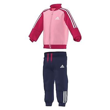 Adidas Performance - Chándal para niña, color rosa, 0 a 3 meses ...