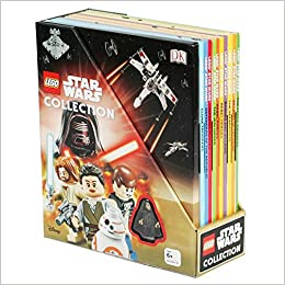 Lego Star Wars Collection 10 Book Box Set With Minifigure Amazon