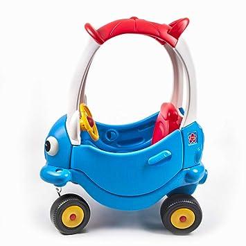 WU ZHI Caminante para Bebés Empuje A Lo Largo De Los Primeros Pasos del Buggy Car Accesorios De Juguetes para Niños Pequeños Paseo En El Carro Antivuelco ...