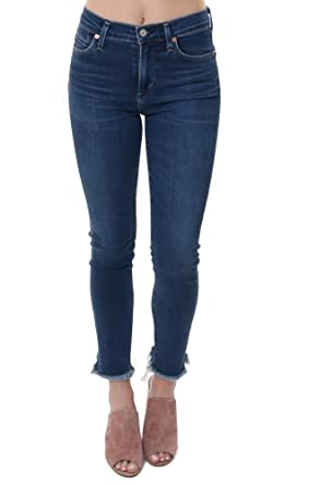 c9f22a11c7 Citizens of Humanity Denim Rocket Crop High Rise Skinny Jeans - Blue - 26