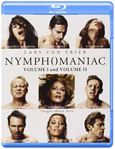 Blu-ray : Nymphomaniac: Volume 1 &: Volume 2 (AC-3, 2 Pack, Dubbed, , Widescreen)