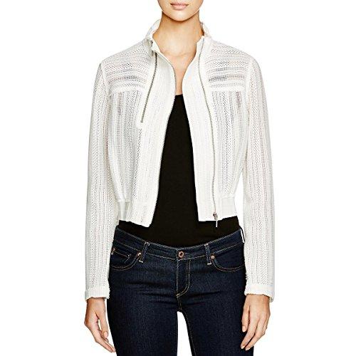Elie Tahari Women's Suri Jacket, White, Small