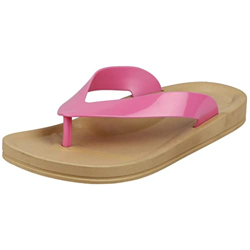 2c931f70ae8bb FLIPSIDE Women s Jessica Pink Slippers  Buy Online at Low Prices in India -  Amazon.in