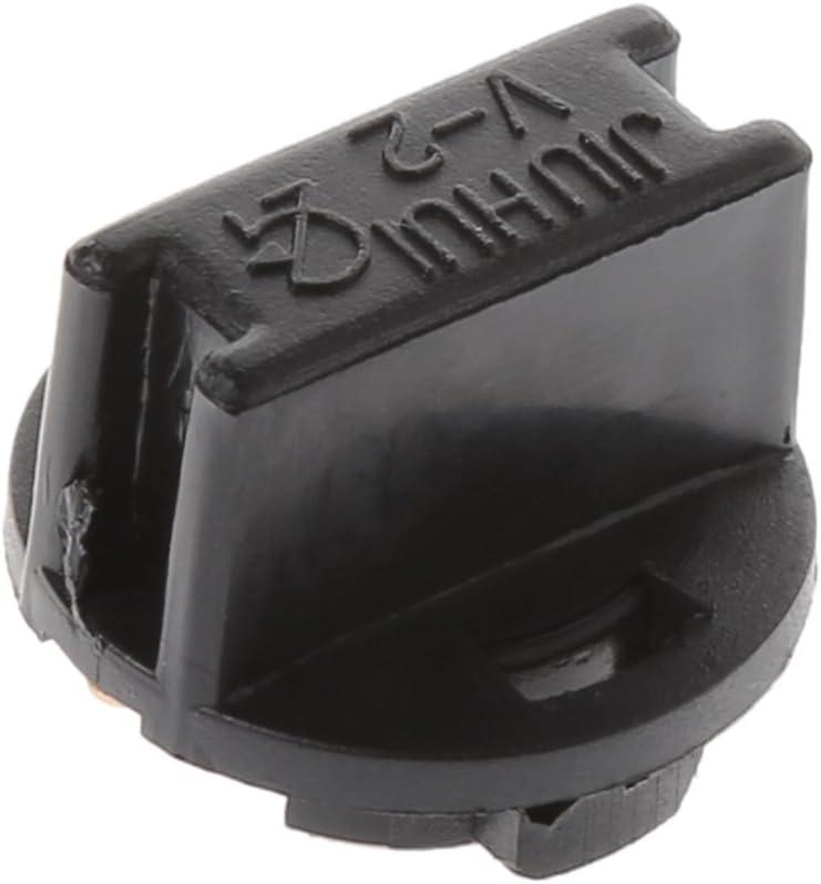 base de soporte de flores 10 unidades de T10 para panel de instrumentos de coche adaptador soporte para bombilla de luz interior giratoria PEI bombilla con cu/ña