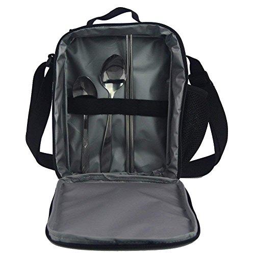 Basketball Print Kids Boy Backpack School Bookbag Lunch Bag Pencil Bag 3 Pieces Set by Mumeson (Image #5)