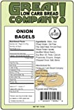 Great Low Carb Bread Co. - Onion Bagels - 3 Bags