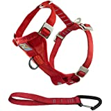 Kurgo Tru-Fit Crash Tested Dog Harness, Red, Medium - Lifetime Warranty