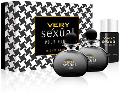 Michel Germain Very Sexual Pour Homme 3 Piece Gift Set