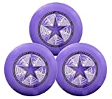 Discraft 175g Ultimate Disc Bundle (3 Discs) (Purple, Purple, Purple)