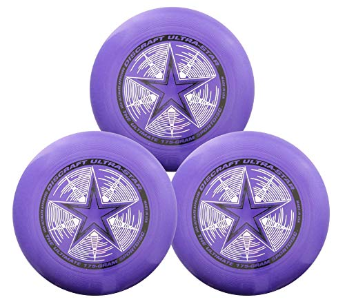 Discraft 175g Ultimate Disc Bundle (3 Discs) (Purple, Purple, Purple) by Discraft (Image #1)