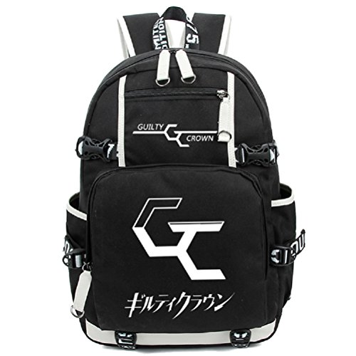 Inori Guilty Crown Cosplay Costume (YOYOSHome Anime Guilty Crown Cosplay Luminous Bookag Backpack School Bag)
