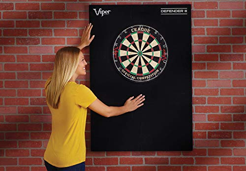 Viper Defender III Extended Length Dartboard Surround Wall Protector