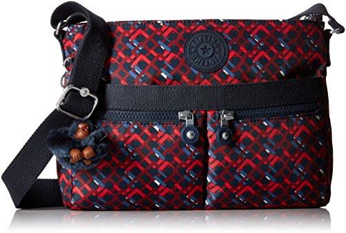 Kipling Women's Angie Cross Body Handbag, One Size Groovy Lines