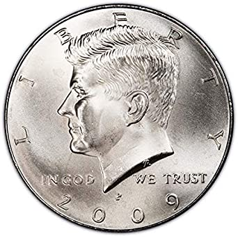 FOUR 2009 P and D Kennedy Half Dollars US Mint Rolls.