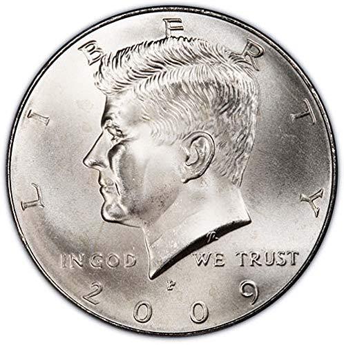 (2009 P & D Satin Finish Kennedy Half Dollar Choice Uncirculated US Mint 2 Coin Set)