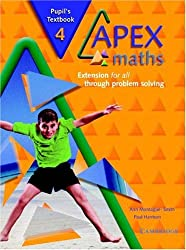 Apex Maths 4 Pupil's Textbook: Extension for all through Problem Solving