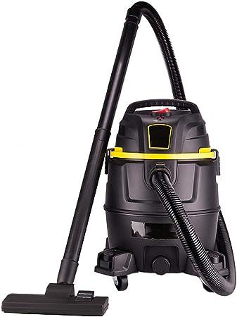 TY-Vacuum Cleaner MMM@ Aspirador Comercial Grande Industrial Aspirador Taller de fábrica Fuerte 1400 W Alta Potencia Seco y Mojado Soplado Hotel de Lavado de Autos de Tres usos Capacidad de 30 litros: