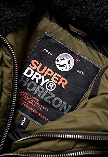 femme verte pour Superdry veste Horizon ZqtwWnY4O