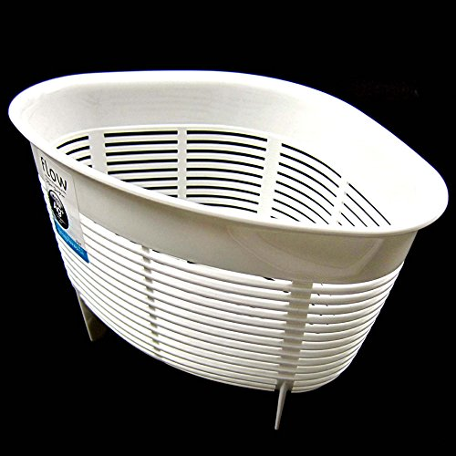 White Antibacterial Triangle Food Disposal Food Strainers Sink Basket Sink Organizer Holder Net