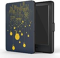 Capa Case Novo Kindle 8a Geração WB Auto Liga/Desliga - Ultra Leve Luzes