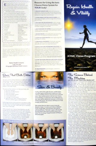 100 Color Tri-fold Brochures to Promote Ion Spa Chi Foot Baths!