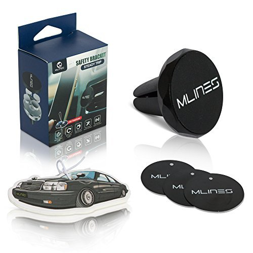 Mlines Car Phone Mount, Air Vent Magnetic Cell Phone Holder