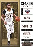 new orleans pelicans tickets - 2017-18 Panini Contenders Season Ticket (Base) #24 Anthony Davis New Orleans Pelicans