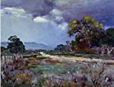 Julian Onderdonk Approaching Rain Southwest Texas - 21'' x 28'' 100% Hand Painted Oil Painting Reproduction