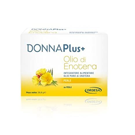 Suplemento DonnaPlus + aceite de onagra 60 perlas de Alimentos
