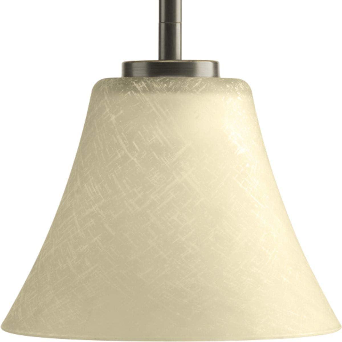 Progress Lighting P5300-20 Bravo Collection 1-Light Mini-Pendant, Antique Bronze