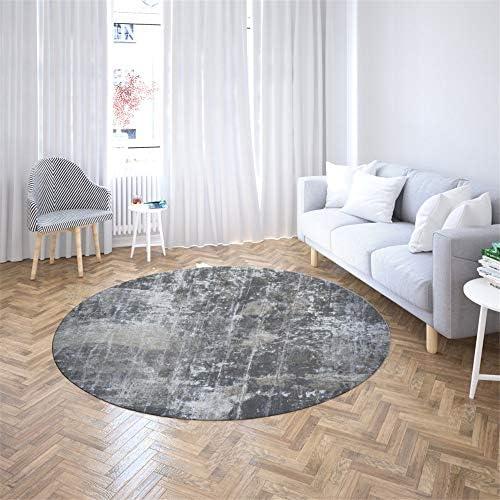 Best Seller Nordic Style Living Room Round Carpet Rugs Rug Home 3D Printing Bedroom Bedside mat B1 100CM