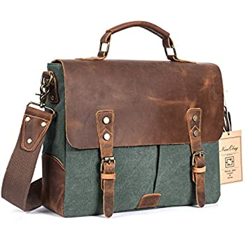 Amazon.com: Messenger Bag Men Satchel for men and women Wowbox 13 ...