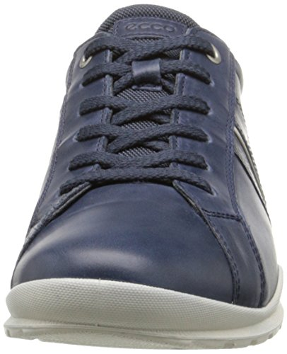 Mujer con Ecco Marine Ecco Cordones III de Marine50595 Cuero Mobile Zapatos Azul rI8pByIq