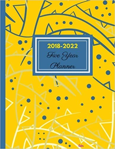 2018 - 2022 Aster Five Year Planner: Agenda Planner for the Next Five Years/60 months calendar – 8.5 x 11, 2018-2022 Monthly Schedule Organizer ... (5 year Diary/5 year Calendar/Logbook)