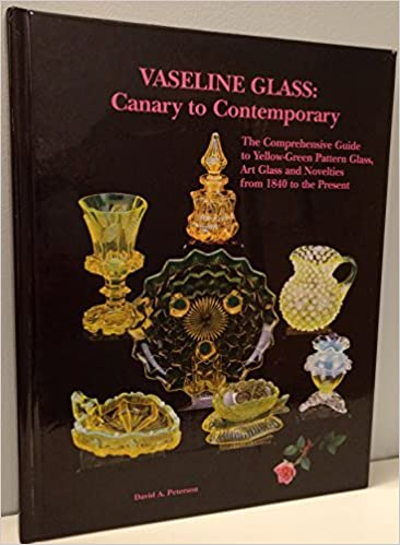 Vaseline Glass Canary To Contemporary The Comprehensive Guide To Cool Vaseline Glass Pattern Identification