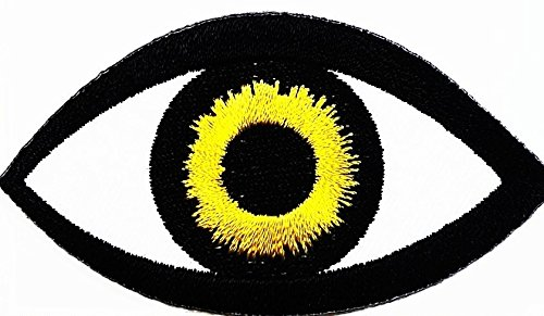 Yellow eye Beautiful Hindu Buddha patch Symbol Jacket T-shirt Patch Sew Iron ippieon Embroidered Sign Badge Costume. 2.85 x 1.5 - Costume This Ideas Year Hippie For