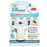 #2: TubShroom The Revolutionary Tub Drain Protector Hair Catcher/Strainer/Snare, White