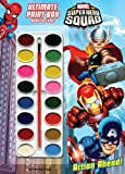 Marvel Superhero Squad: Action Ahead! Ultimate Paint Box Book to Color, Dalmatian Press, 1403764077