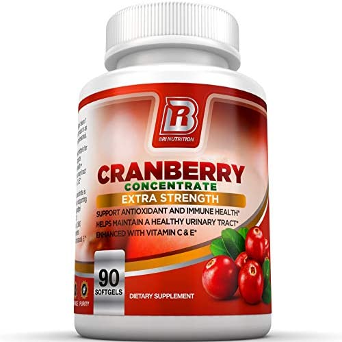 BRI Nutrition 3X Strength 12,600mg CranGel Power Plus High Potency