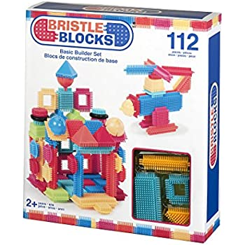 Bristle Blocks Toy Building Blocks for Toddlers (112 pieces)