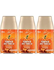 Glade Automatic Spray Refill - Pumpkin Spice Things Up - Holiday Collection 2020 - Net Wt. 6.2 OZ (175 g) Per Refill Can - Pack of 3 Refill Cans