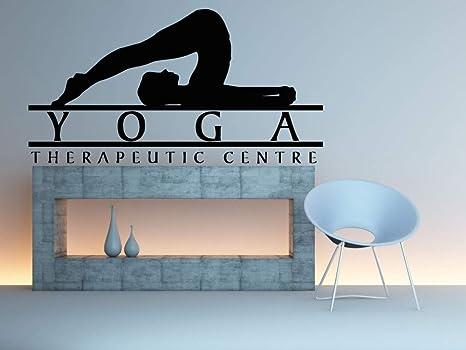 105x57 cm Estudio de Yoga Tatuajes de Pared Cotizaciones ...