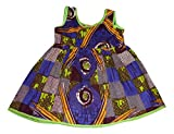 African Dress for Little Girls – African Print Dress for Baby Girl - 12 Months
