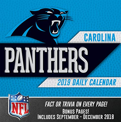 Turner Licensing Carolina Panthers 2019 Box Calendar (19998051432)