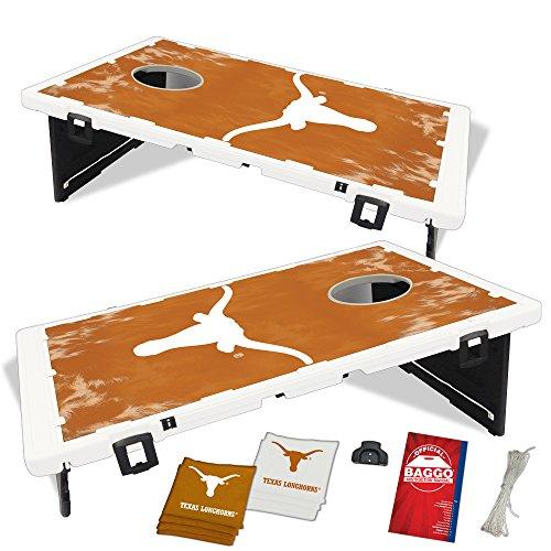 Super Texas Longhorns Fanatic Baggo Bean Bag Toss Portable Cornhole Tailgate Game With Lifetime Warranty Pabps2019 Chair Design Images Pabps2019Com