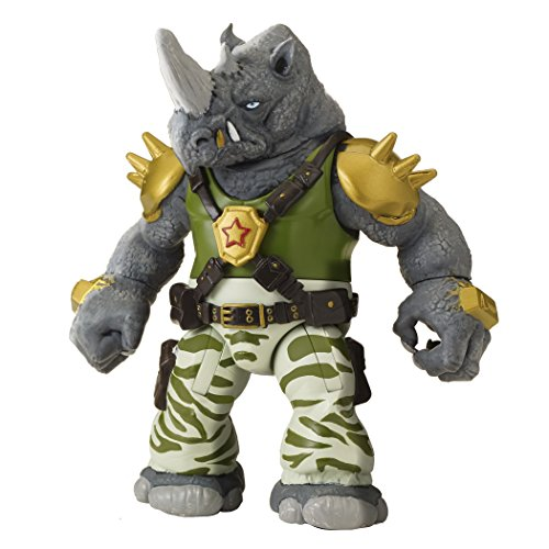 Teenage Mutant Ninja Turtles Rocksteady Figure (Teenage Mutant Ninja Turtles Bad Guys)