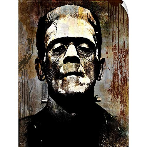 CANVAS ON DEMAND Martin Wagner Wall Peel Wall Art Print Entitled Frankenstein I 12